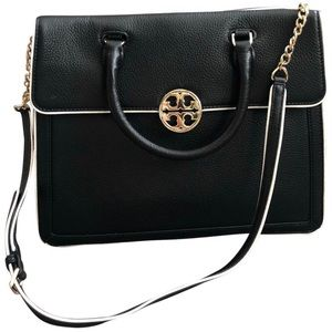 Tory Burch Chain Converti Duet Leather Satchel
